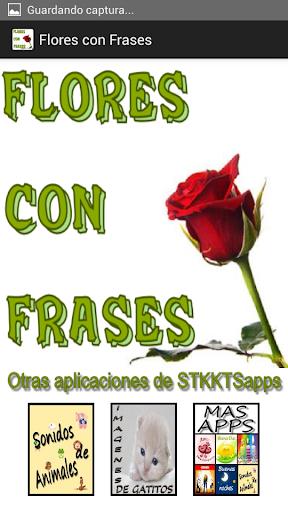 Flores con Frases