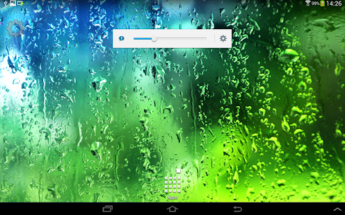 Summer Rain Live Wallpaper - screenshot thumbnail