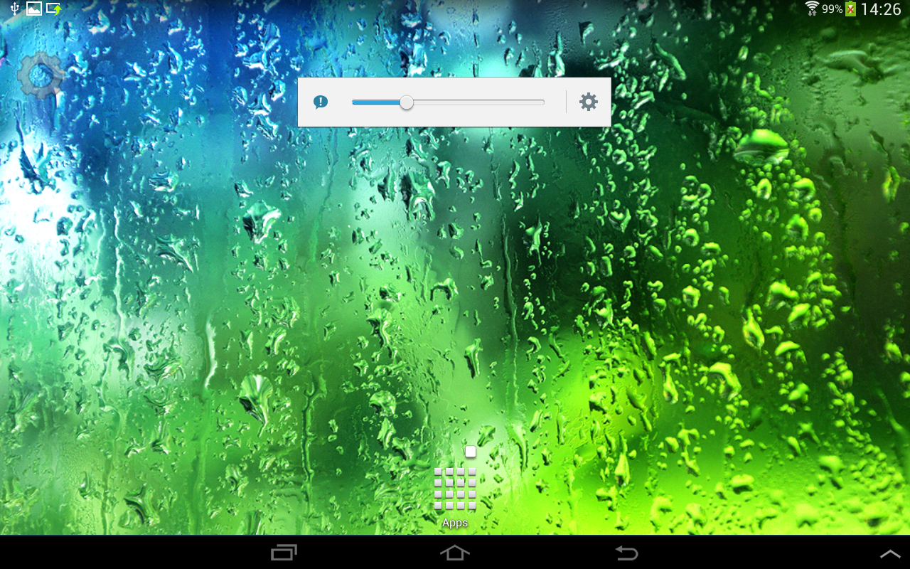 Summer Rain Live Wallpaper - screenshot