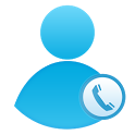 One Touch Call/SMS Widget icon