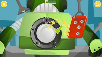 Screenshot of Secret Robot Lab - Kids Game