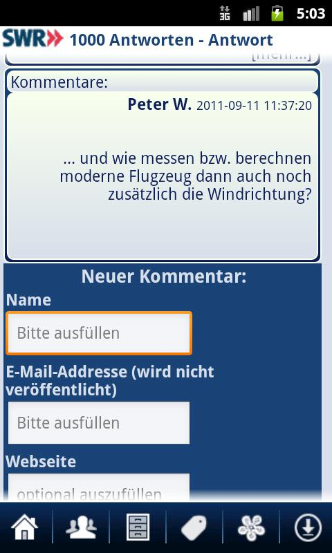 1000 Antworten- screenshot