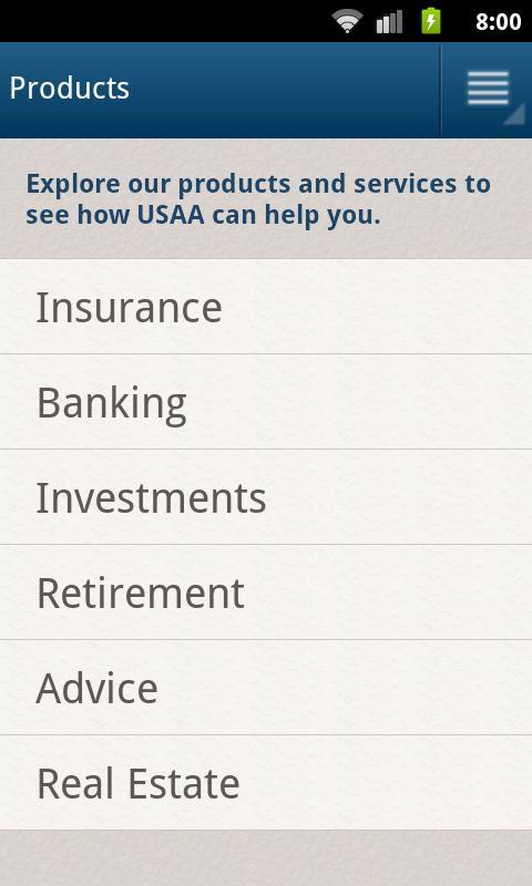 Usaa Car Loan Calculator >> USAA Mobile - screenshot