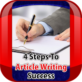 4 Steps To Article Writing