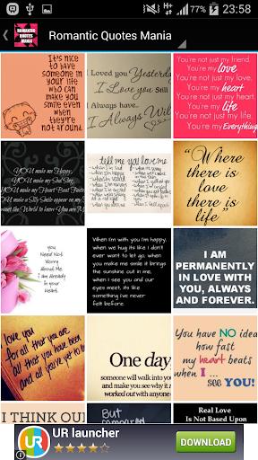 Romantic Quotes Mania