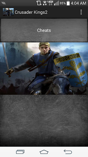 Crusader Kings 2 Cheat Codes