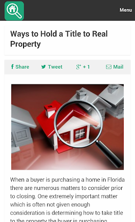 Property Search Tips 1.0 screenshot 10079