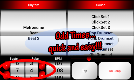 Acoustic Drum Machine- screenshot thumbnail