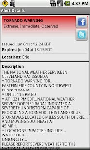 Active Alerts - Weather Alerts - screenshot thumbnail