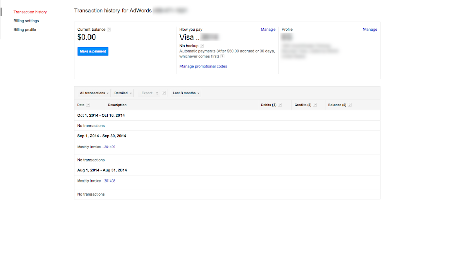 Get an invoice or payment receipt AdWords Help – Receipt Payment