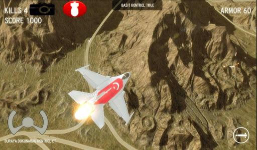 Savaş Uçak Simülatörü 3D