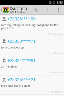 My Ghana Budget- screenshot thumbnail