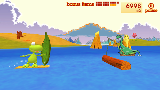 Dopey Dinosaur and the Meteors  screenshots 3