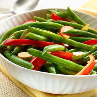 Green Beans & Red Peppers.