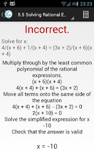Learn Algebra - screenshot thumbnail