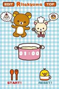 Rilakkuma Timer - screenshot thumbnail
