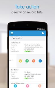 Salesforce1- screenshot thumbnail