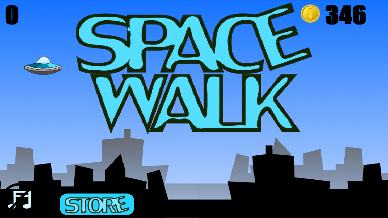 Space Walk- screenshot