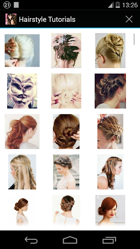 Hairstyles step by step  screenshots 1