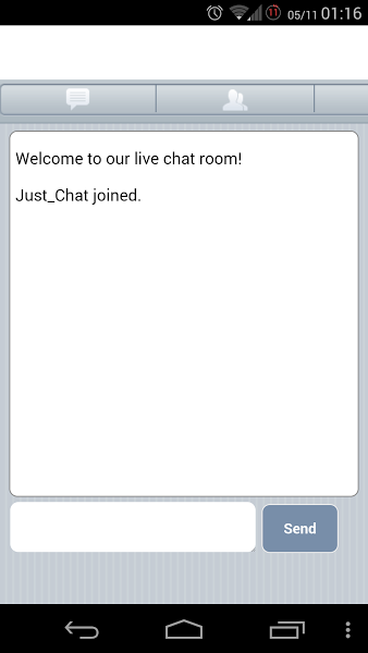 live single chat room just chat android apps on play 16770