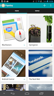 PaperBoy - Feedly News Reader - screenshot thumbnail