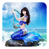 Magic Ripple:3D Mermaid LWP