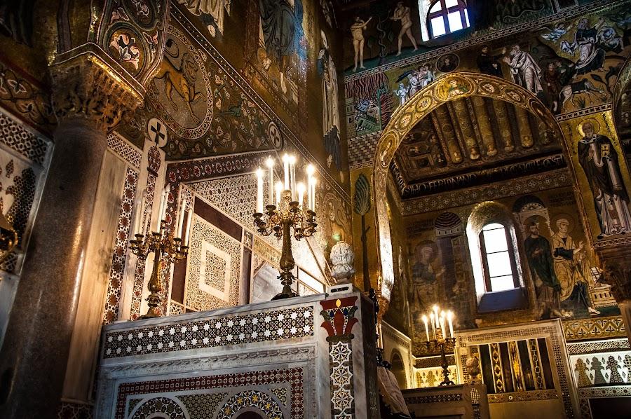 Cappella Palatina Palermo by Mauro Bastelli - Buildings & Architecture Public & Historical