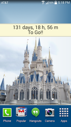 Countdown for Disney World Dlx