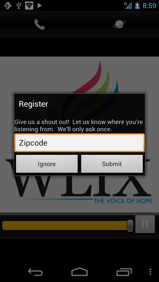 WLIX Radio - screenshot