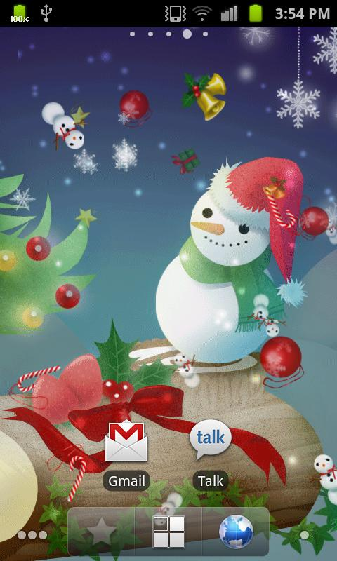Christmas Live Wallpaper_free- screenshot