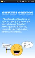 Screenshot of Chistes Buenos