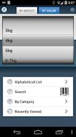 Screenshot of eBroselow SafeDose