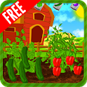Planting fruit and vegetables icon