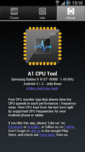 A1 CPU Tool - screenshot thumbnail