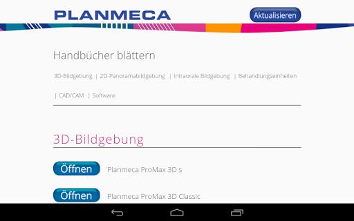 Planmeca Handbücher