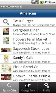 Hometown Values Local Coupons - screenshot thumbnail