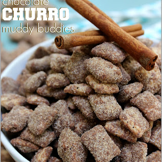 Chocolate Churro Muddy Buddies