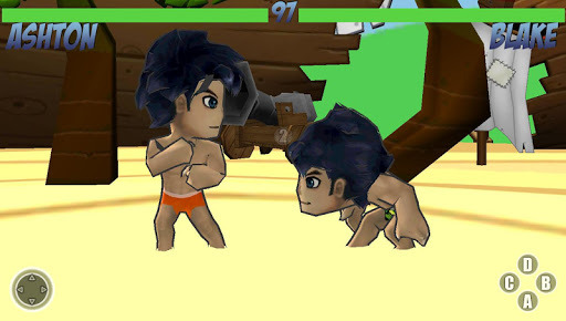 Island Fighters Wrestling War
