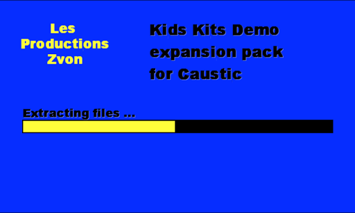 Kids Kits for Caustic 2 demo