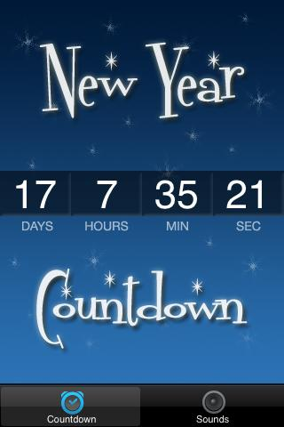 New Year's 2014 Countdown - screenshot