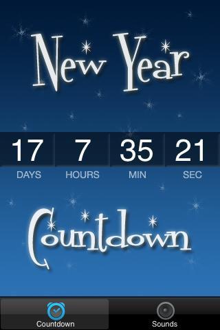 New Year's 2015 Countdown - screenshot