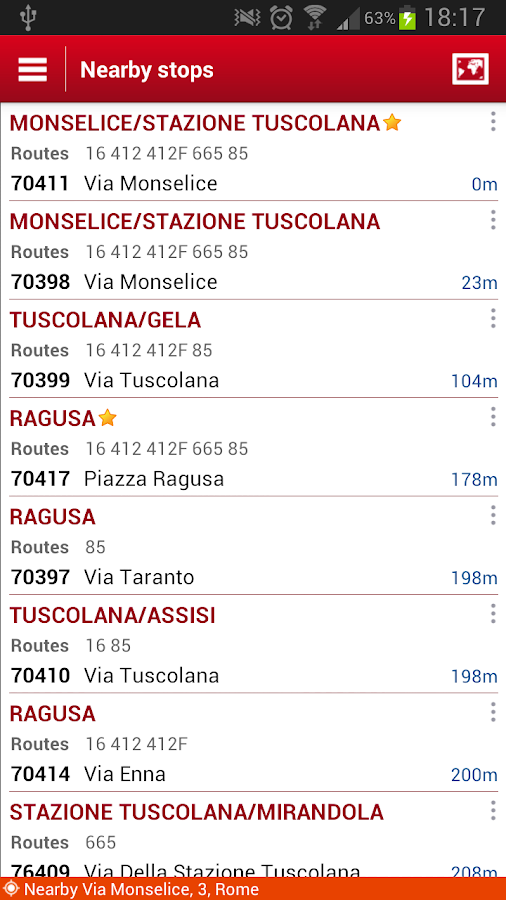 Probus Rome Bus|Atac|Journey - screenshot