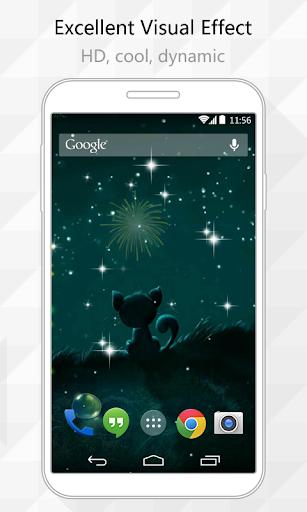 Firework Live Wallpaper