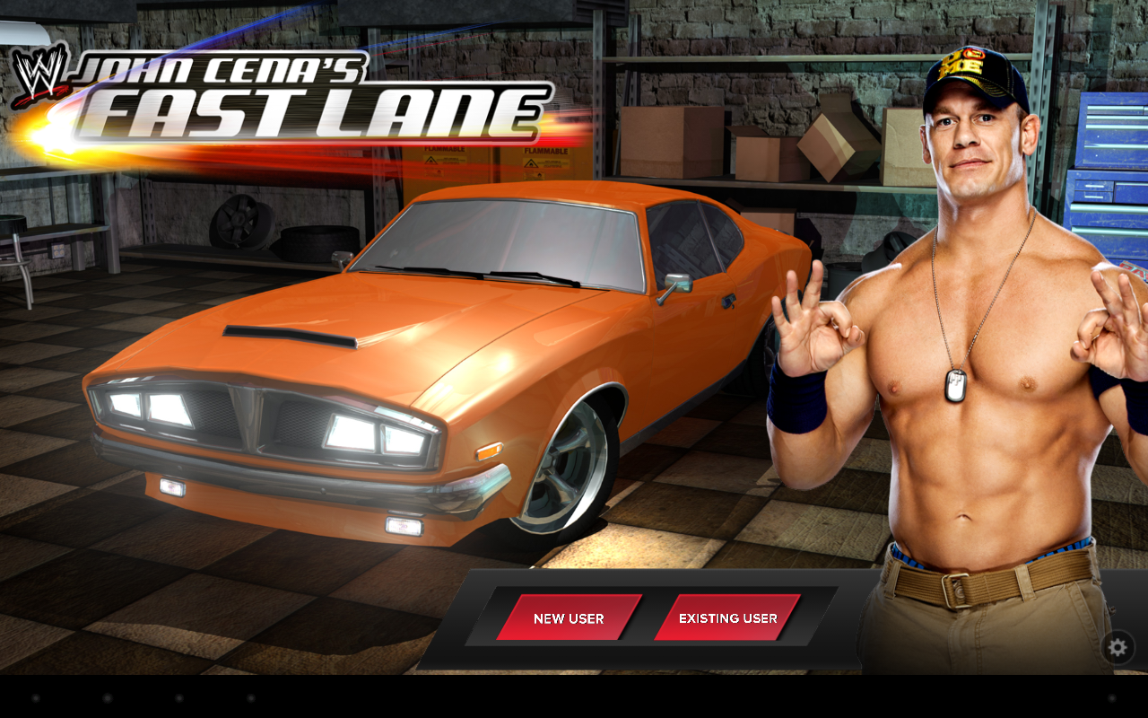 WWE: John Cena's Fast Lane - screenshot