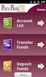 Prairie Bank Mobile Banking - screenshot thumbnail