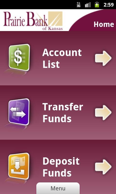 Prairie Bank Mobile Banking - screenshot
