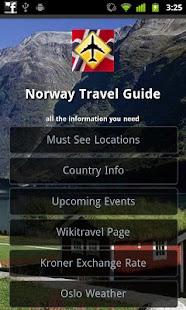 Norway Offline Travel Guide- screenshot thumbnail