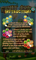 Screenshot of Fruit Swipe