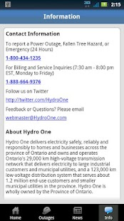 Hydro One Mobile - screenshot thumbnail