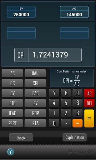 PMP Formula Calculator